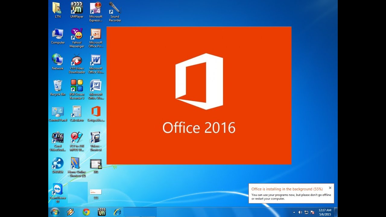 How to download install office 2016 preview in windows for Windows 7 bureau vide
