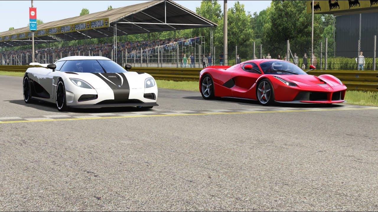 Koenigsegg Regera vs Ferrari Omologata at Monza Full Course