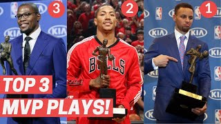 Top 3 Plays From The MVP Each Year! (2010-2020)