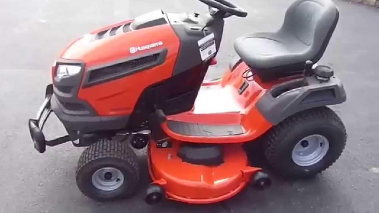 Husqvarna Lawn Tractor Mirrors : Quot husqvarna yth v xls hp briggs engine riding lawn