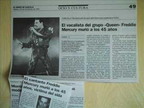 Freddie Mercury tiene SIDA
