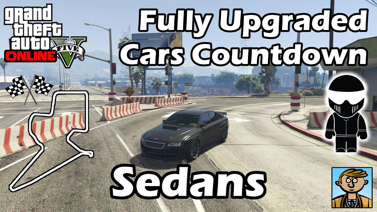 Fastest Sedans Best Fully Upgraded Cars In Gta Online