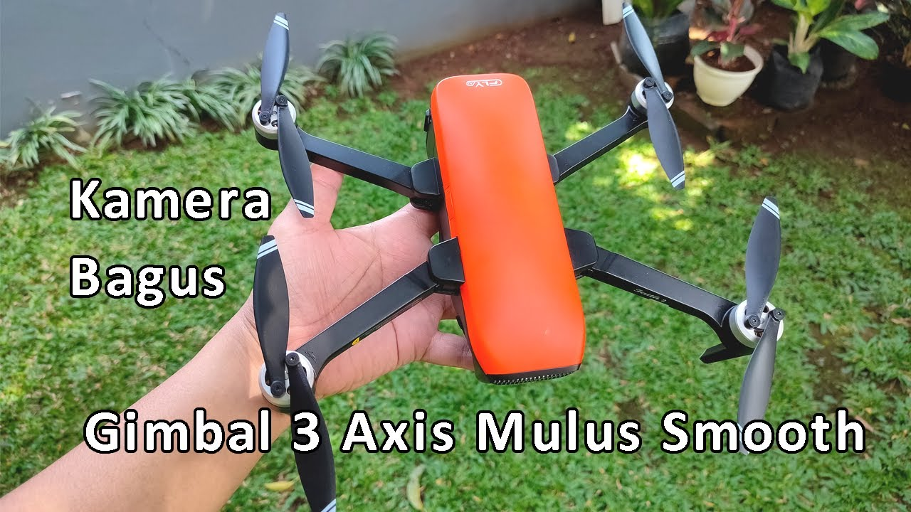 Unboxing CFly Faith 2 Kamera 4K Good Gimbal 3 Axis Mulus Smooth :D