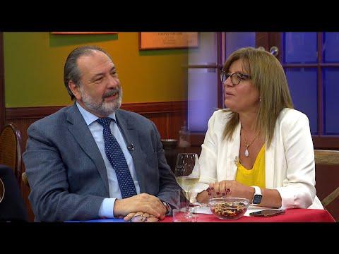 Jorge Gandini y la Dra. Alejandra Rey