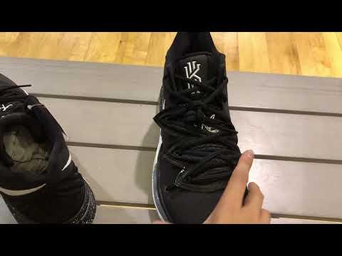 c1678f3a900e1d Nike Kyrie 5 Black Magic Release Details - YouTube