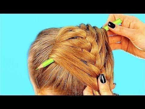 10 Peinados De Un Minuto Para Ninas Youtube
