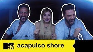 Fer se reencuentra con los shores   Acapulco Shore