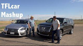 2015 Cadillac Escalade vs Lexus LS460 Mashup Review: Beauty vs Brawn