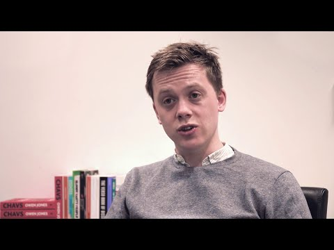 Owen Jones: Chavs | British politics and the working class five years later