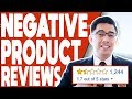 "😭😭NEGATIVE AMAZON PRODUCT REVIEWS! ""How to match them & How to remove them?"""