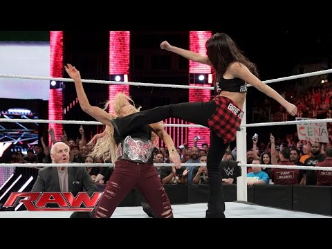 Charlotte makes things even more personal with Brie Bella: Raw, February 15, 2016