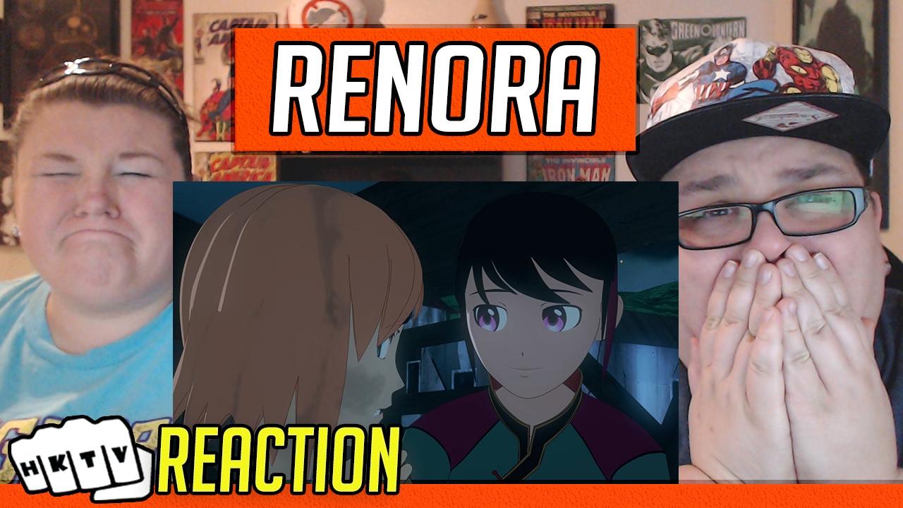 OFEENO RENORA RON MAN REACTION BABIES!- RWBY Volume 4 Chapter 10