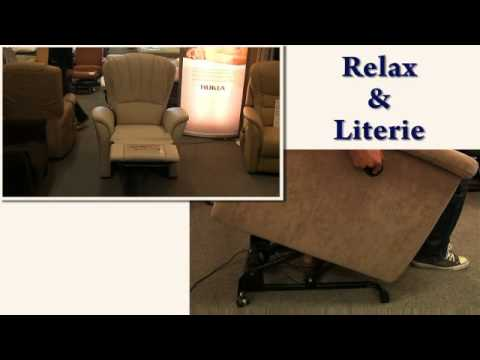 la maison du relax et de la literie youtube. Black Bedroom Furniture Sets. Home Design Ideas