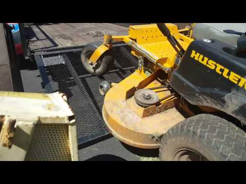 Easiest way to clean your mower deck