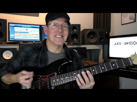 Axis of Awesome 4 Easy Guitar Chords to Play 1000s of Songs - Jeff Scheetz