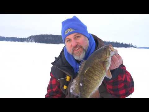 Rotating Power Minnow (RPM) Multi-Species Ice Fishing Jig + Ice Fishing Tips