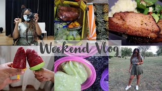 Weekend Vlog: Salon Appointment & Shopping Errands |Watch My Blender Work Overtime |Dimpho Maponyane