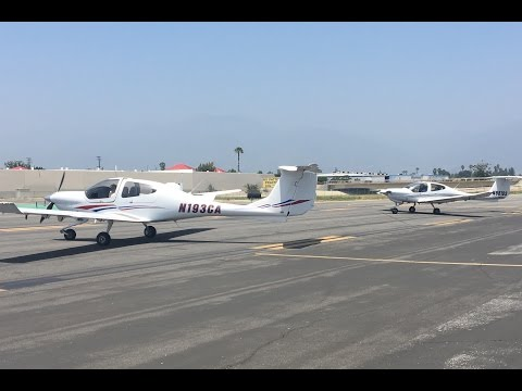 Full HD Video - First Leg Of Solo Cross Country Flight: Diamond DA40