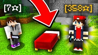 CARRIED BY TOP RANKED MINECRAFT BED WARS PLAYER! *350 STAR*