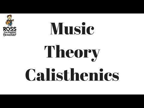 Music Theory Calisthenics EP - 01 - Live Music Lesson