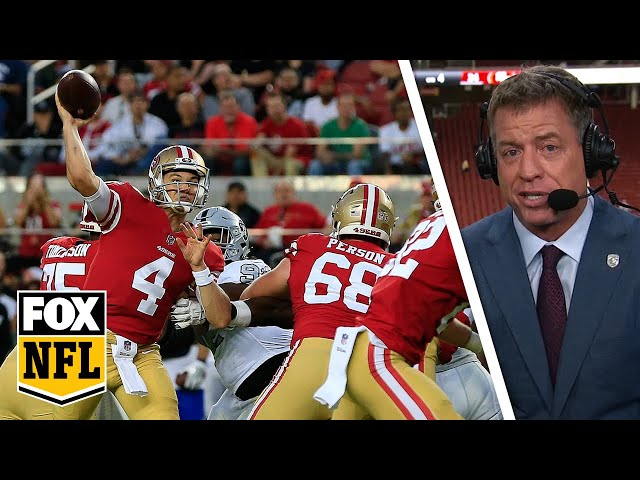 Troy Aikman: Virtually unknown Nick Mullens 'played flawlessly' | FOX NFL