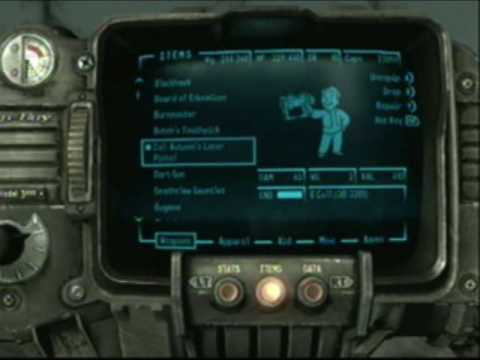 Fallout 3 All Rare Weapons Montage with Locations on