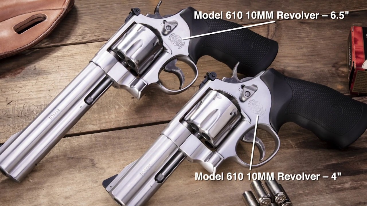 The Smith & Wesson Model 610 Revolver Reintroduced in 10MM