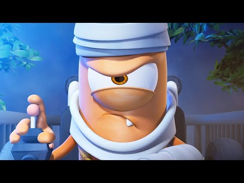 Spookiz - Fly Me To The Moon | Funny Cartoon for Children
