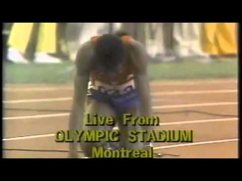 Edwin Moses Went for Gold