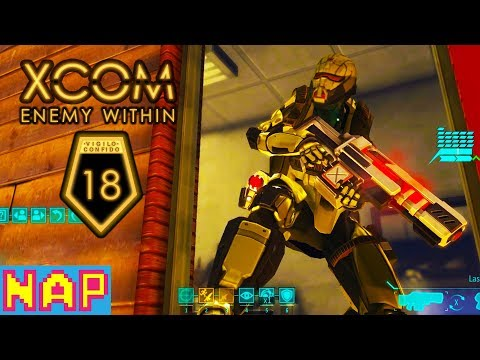 The Supply Barge - XCOM Enemy Within Gameplay - Part 18