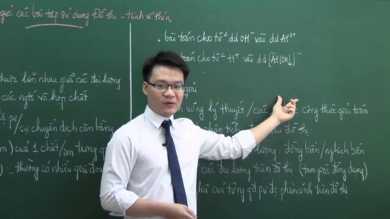 Thầy Vũ Khắc Ngọc – Phương pháp giải các bài tập Hóa sử dụng đồ thị – hình vẽ thí nghiệm (phần 1)