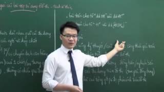 Thầy Vũ Khắc Ngọc - Phương pháp giải các bài tập Hóa sử dụng đồ thị - hình vẽ thí nghiệm (phần 1)