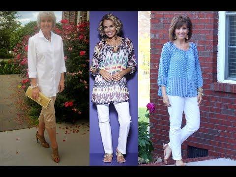 Blusa De Señoras Mujeres De 40 A 60 Años | Moda 2019