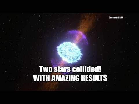 Two stars collide and scientists could watch it — for the first time ever