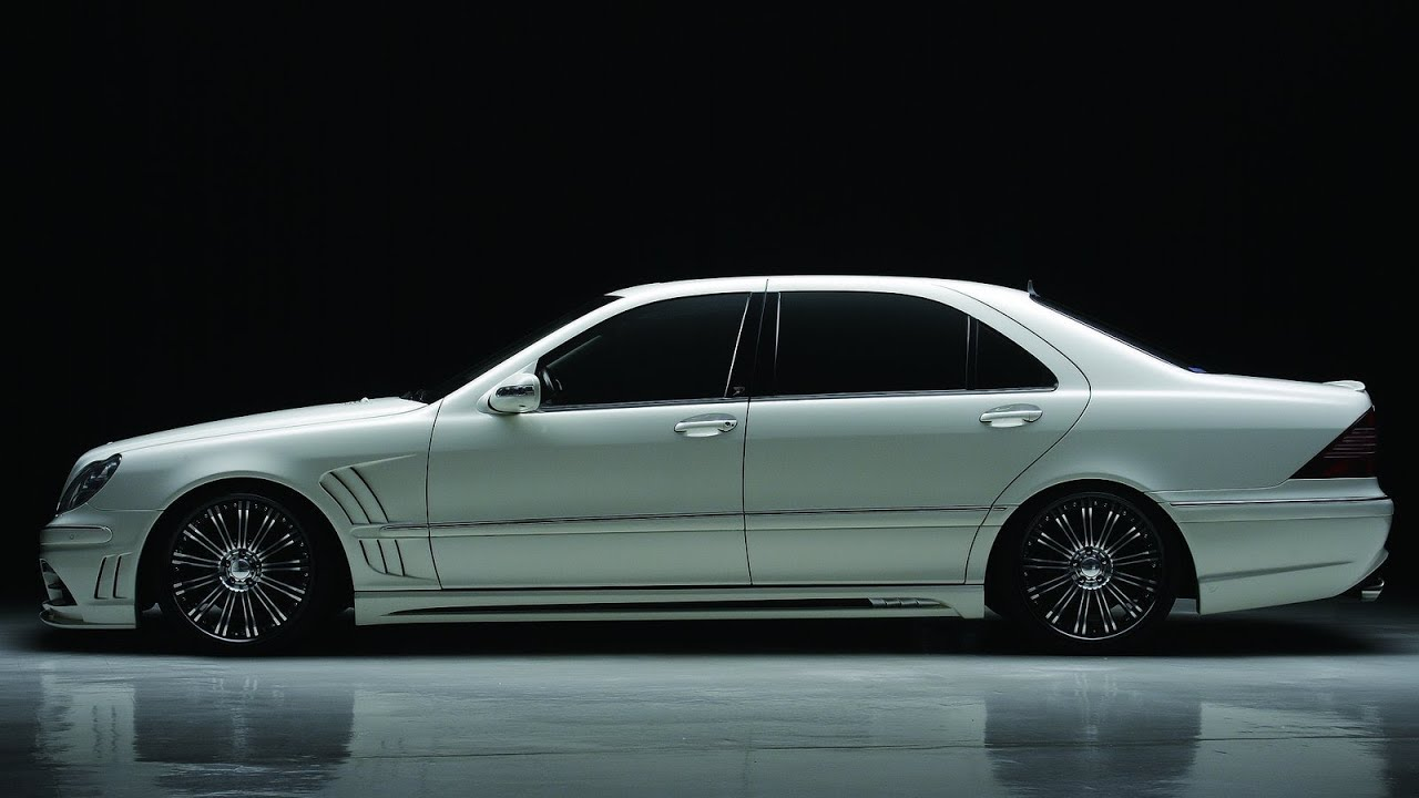 Wald mercedes benz s class w220 black bison 2003 youtube for Mercedes benz s500 2003