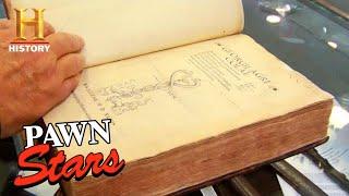 Pawn Stars: Isaac Newton's RARE Book DEFIES the Odds (Season 3) | History