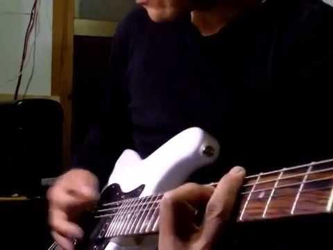 14600円の安いギターで男闘呼組 TIME ZONE を弾いてみた