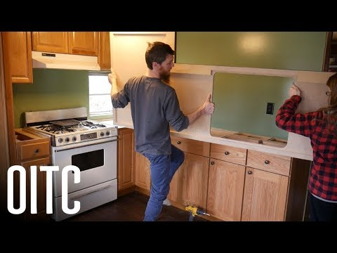Mobile Home Kitchen Countertop Reveal - Is the Budget Remodel Done?