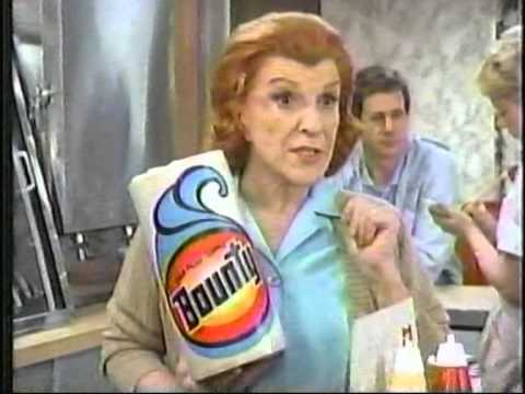 Bounty Paper Towels Commercial 1984