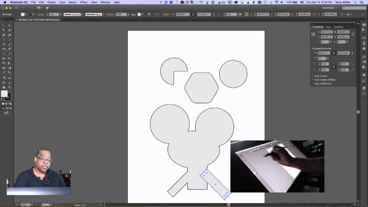 new drawing tools in adobe illustrator cc youtube