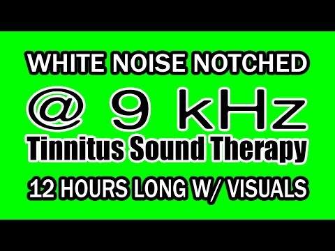 white-noise---notch-filtered-at-9-khz-for-tinnitus-therapy-w/-visuals