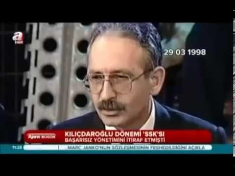 Kemal Kılıçdaroğlu Döneminde SSK - 1998 Yılı A Takımı Programında Kılıçdaroğlu