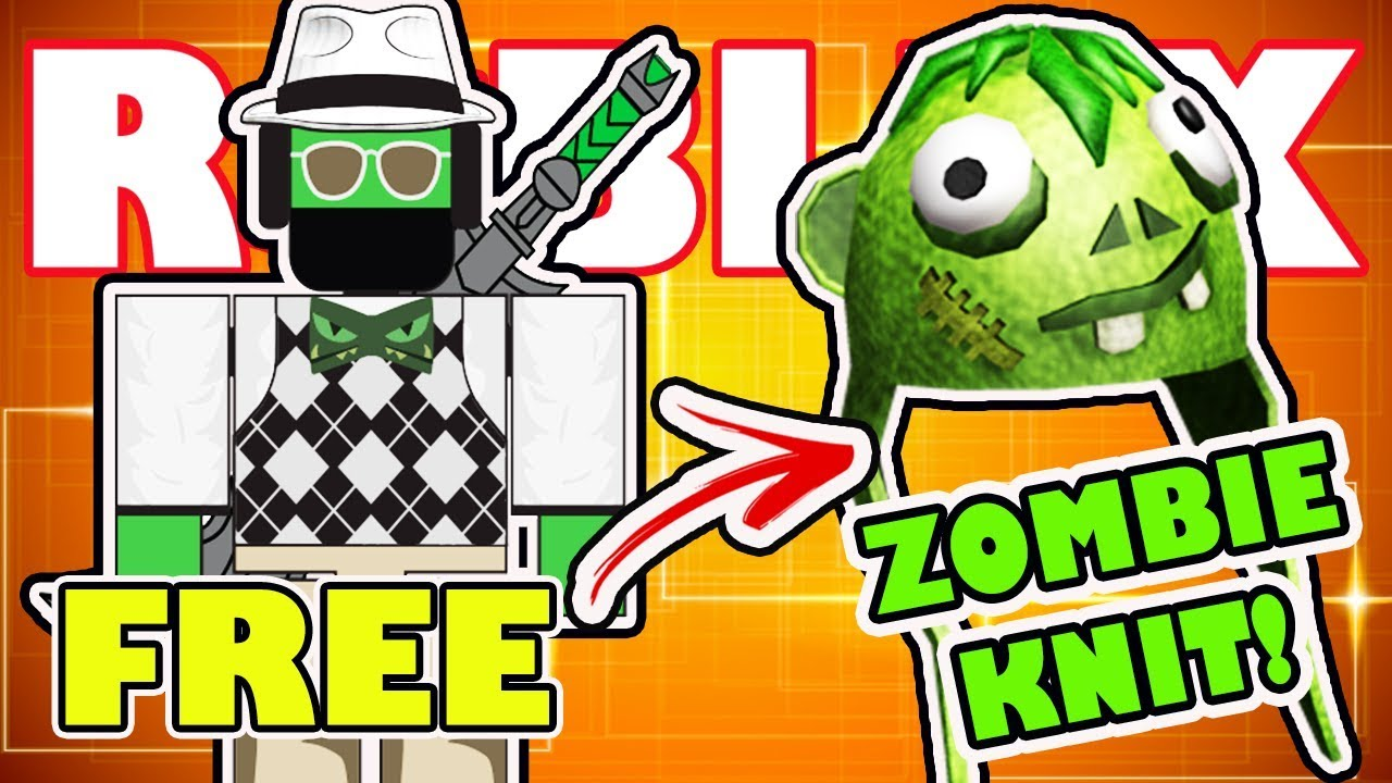 Roblox Series 4 - Free Zombie Knit Virtual Item For The Winner Roblox Action Series 4 Wishz