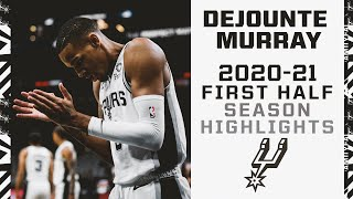 Dejounte Murray 2020-21 San Antonio Spurs First Half Season Highlights
