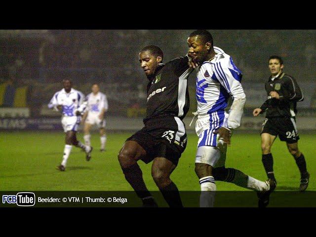 2000-2001 - Jupiler Pro League - 29. SK Beveren - Club Brugge 0-2