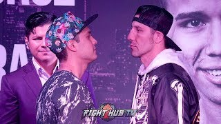 OMAR FIGUEROA & JOHN MOLINA HAVE INTENSE FACE OFF AHEAD OF THEIR CO MAIN EVENT FIGHT ON FOX