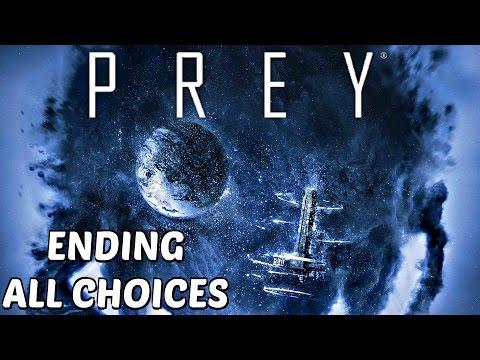 Prey Ending Good & Bad Endings Post Credit Scene All Choices