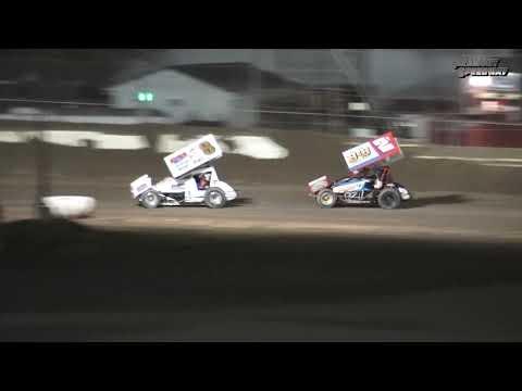 Fremont Speedway 305 Sprint Car Feature - 9/9/17