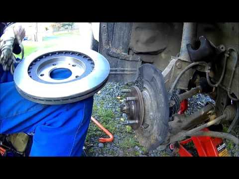 The Mitsubishi Brake Job – Car DIY