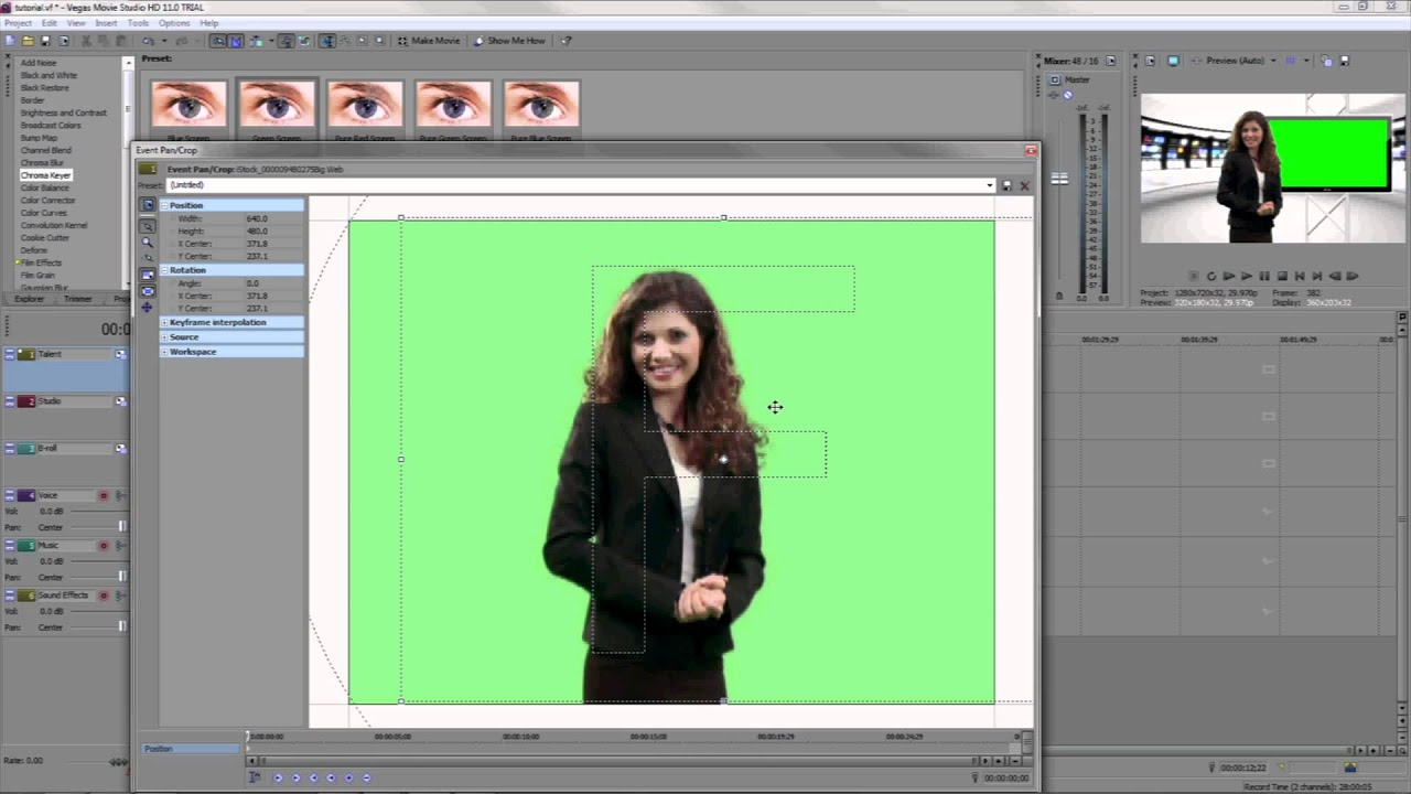 how to cut a video on sony vegas